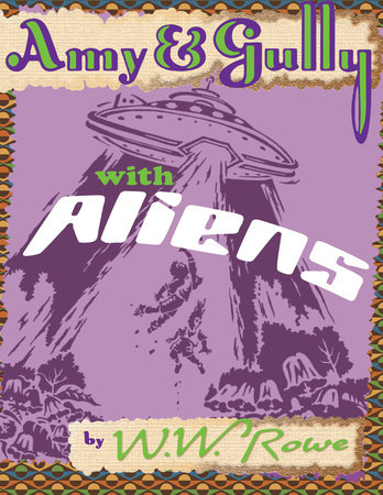 Amy & Gully with Aliens by