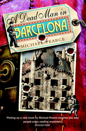 Dead Man in Barcelona by Michael Pearce
