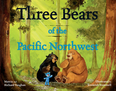 Three Bears of the Pacific Northwest by