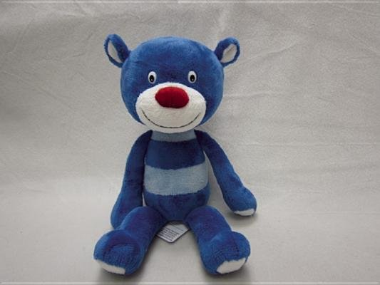Blue Bear Plush Doll by Martha Vaughan and Richard Lee Vaughan
