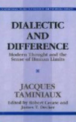 Dialectical and Difference by Jacques Taminiaux