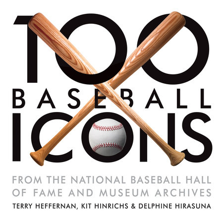 100 Baseball Icons by Kit Hinrichs