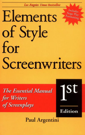 Elements of Style for Screenwriters by