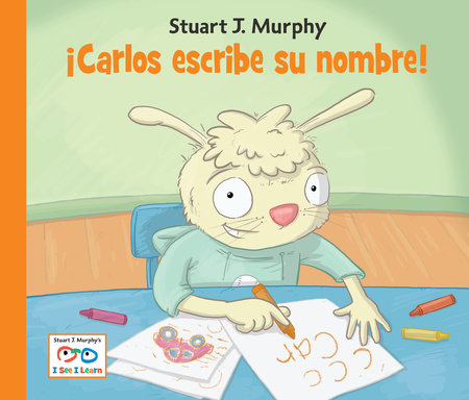 Carlos escribe su nombre by