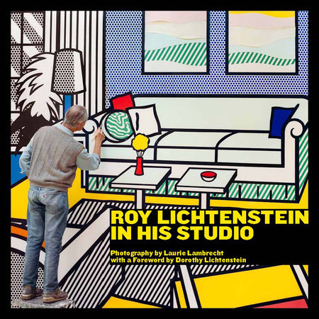 Roy Lichtenstein in His Studio by