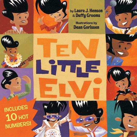 Ten Little Elvi by