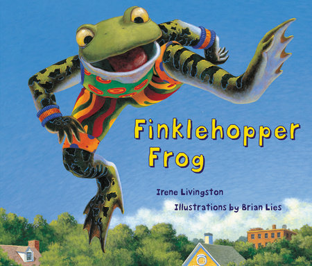 Finklehopper Frog by Irene Livingston