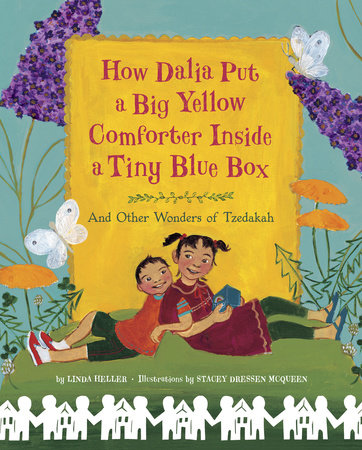 How Dalia Put a Big Yellow Comforter Inside a Tiny Blue Box by