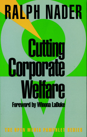 Cutting Corporate Welfare by