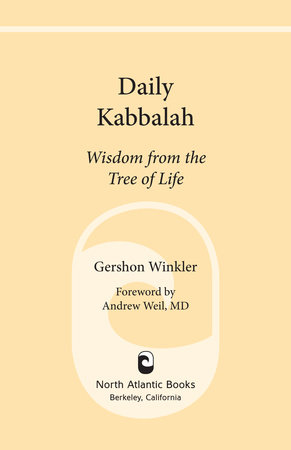 Daily Kabbalah by Gershon Winkler