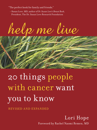 Help Me Live, Revised by Lori Hope