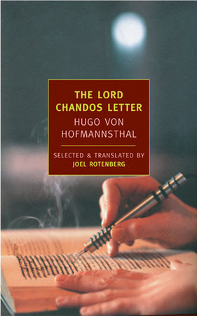 The Lord Chandos Letter by
