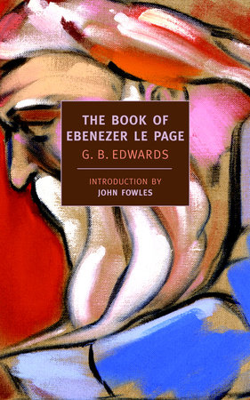 The Book of Ebenezer Le Page by G.B. Edwards