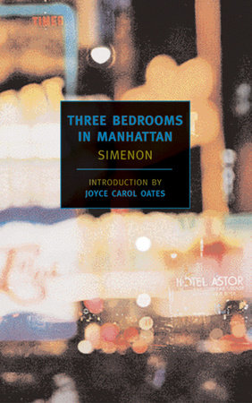 Three Bedrooms in Manhattan by Georges Simenon