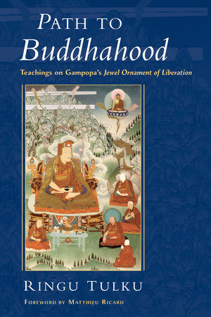 Path to Buddhahood by Ringu Tulku