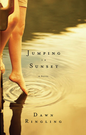 Jumping in Sunset by Dawn Ringling
