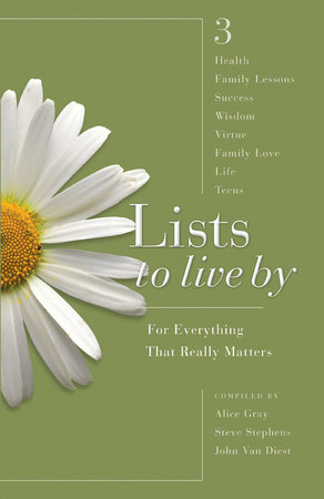 Lists to Live By: The Third Collection by