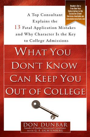 What You Don't Know Can Keep You Out of College