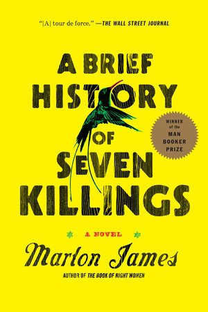 A Brief History of Seven Killings book cover