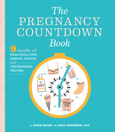 The Pregnancy Countdown Book by