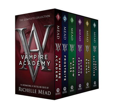 Vampire Academy Box Set 1-6 book cover
