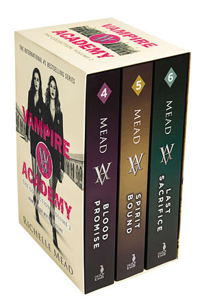 Vampire Academy Box Set 4-6 book cover