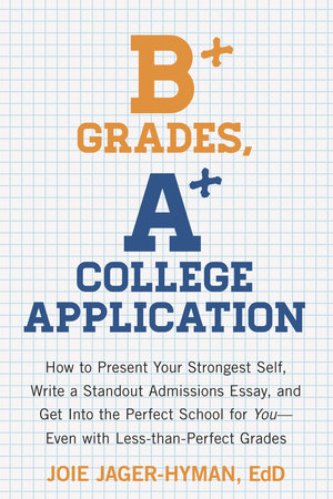 B+ Grades, A+ College Application by