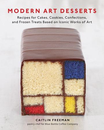 Modern Art Desserts by