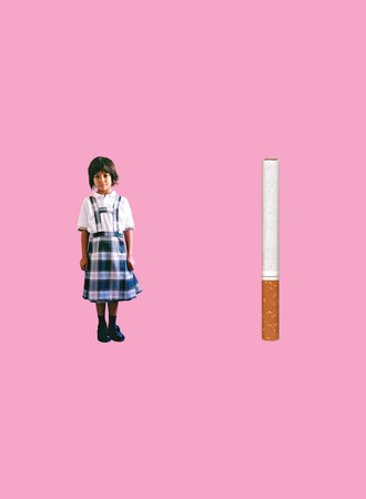 The Little Girl and the Cigarette by