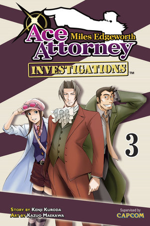 Miles Edgeworth: Ace Attorney Investigations 3 by