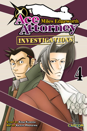 Miles Edgeworth: Ace Attorney Investigations 4 by