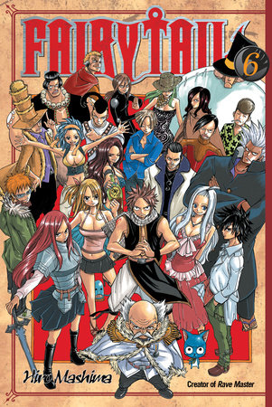 Fairy Tail 6 by Hiro Mashima