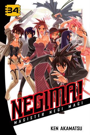 Negima! 34 by Ken Akamatsu