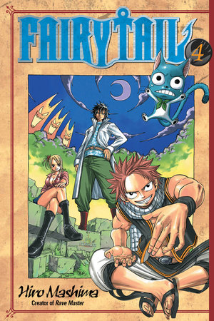 Fairy Tail 4 by Hiro Mashima
