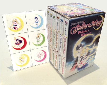 Sailor Moon Box Set (Vol. 1-6) by Naoko Takeuchi