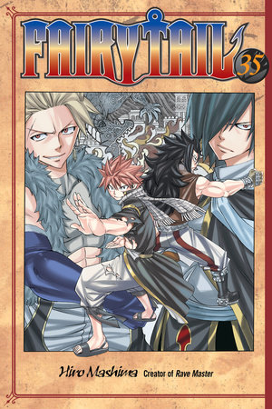 Fairy Tail 35 by Hiro Mashima