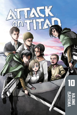 Attack on Titan 10 by