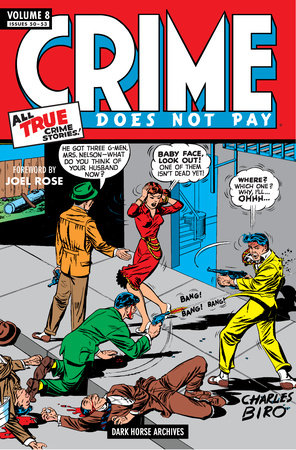 Crime Does Not Pay Archives Volume 8 by Various