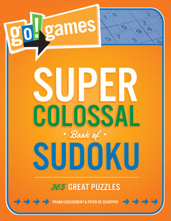 Go!Games Super Colossal Book of Sudoku by