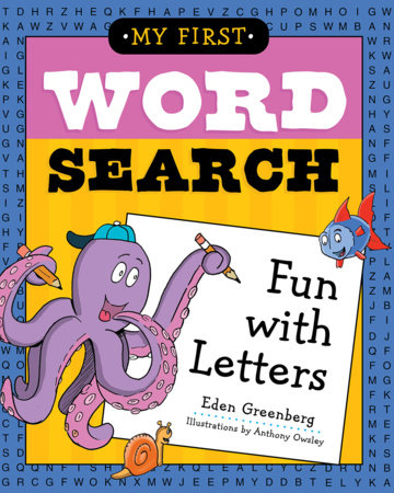 My First Word Search: Fun with Letters by
