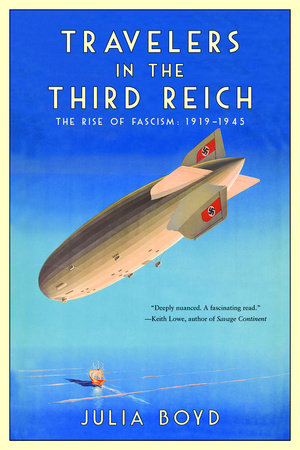 Cover of Travelers in the Third Reich
