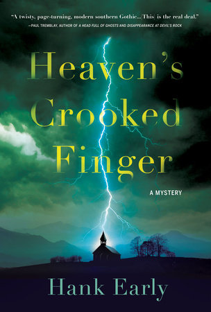 Cover of Heaven's Crooked Finger: An Earl Marcus Mystery