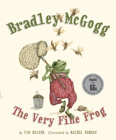 Bradley McGogg, the Very Fine Frog by