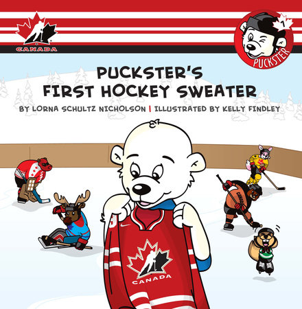Puckster's First Hockey Sweater by