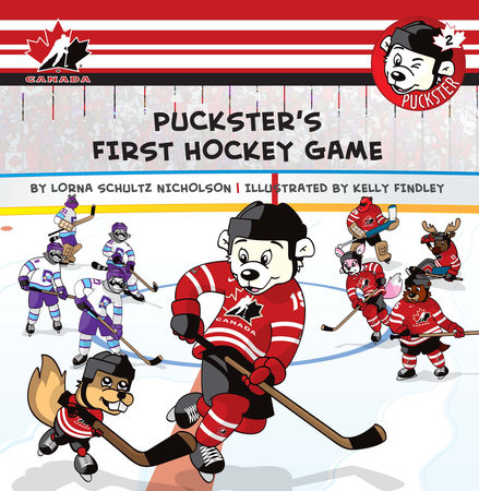 Puckster's First Hockey Game by