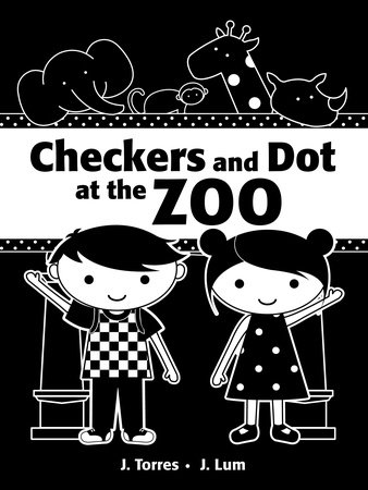 Checkers and Dot at the Zoo by