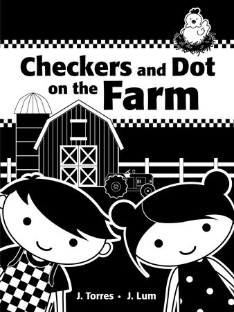 Checkers and Dot on the Farm by