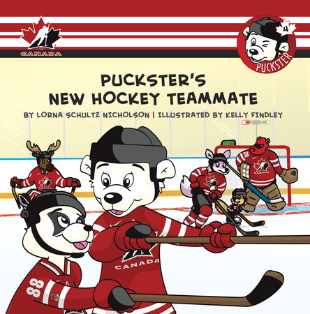 Puckster's New Hockey Teammate by