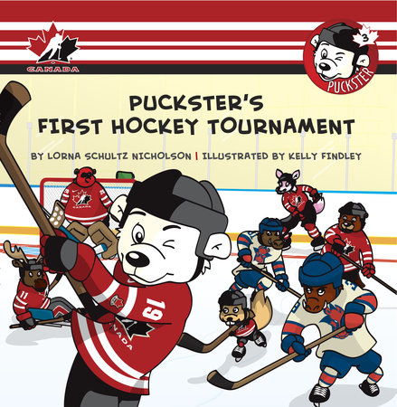 Puckster's First Hockey Tournament by
