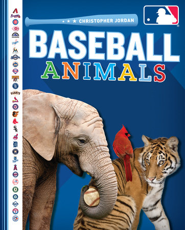 Baseball Animals by Christopher Jordan